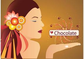 Chica de chocolate