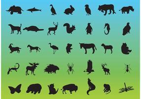 Tierwelt Vektor