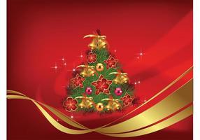 Vecteur arbre de Noël