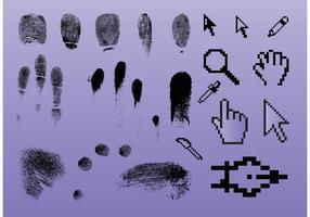 Fingerprint Pointer Graphics