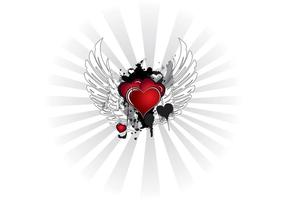 Corações do grunge valentine