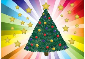 Decorated-christmas-tree-vector
