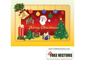 Graphiques vectoriels gratuits pour Noël