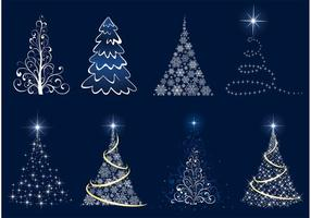 Christmas Tree Vector Graphics