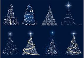 Árbol de Navidad gráficos vectoriales