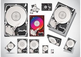 Hard-disk-vectors