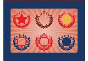 Vecteurs d'emblèmes militaires