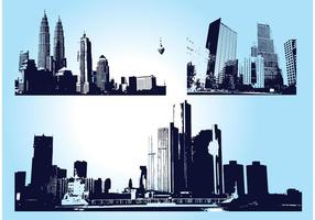 Skyscraper City Graphics