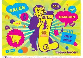 Verkauf Vektorgrafiken