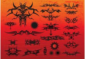 Gratis Tribal Tattoo Vectors