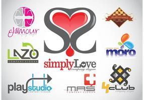 Logo design vektor footage
