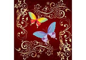 Graphique vectoriel papillon