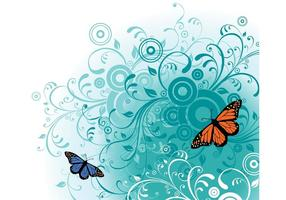 Gratis Butterfly Vector Art