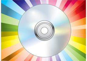 CD DVD Disc Vektor