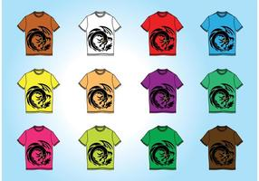 Livre T-Shirt Templates Vectors