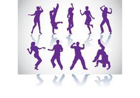 Dancers-vectors