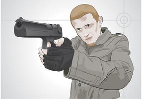 Homem de tiro
