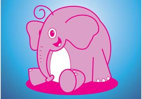 Elephant Vector Cartoon