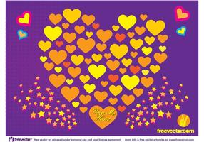 Free Love Vector Art