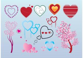 Gratis Valentine Heart Vector Graphics