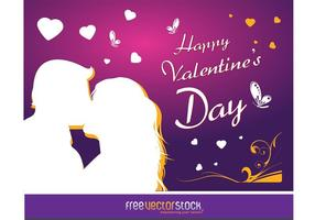 Free Love Card Vector Art