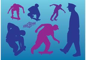 Skateboard Vector Graphics