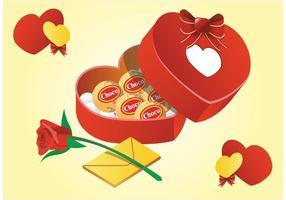 Valentine Gifts Vector