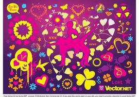 Cool-love-vectors