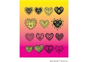 Scribbled Heart - Download Free Vector Art, Stock Graphics ...