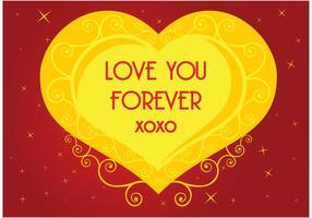 Love Heart Vector Graphics