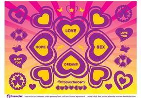 Amor Esperanza Sexo Sueños Vector