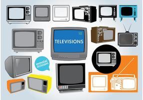 Vecteurs de télévision gratuits