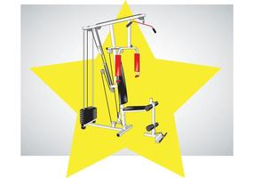 Fitness Equipment Vector