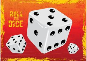 Glücksspiel Würfel Vektor