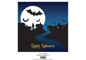 Halloween-night-vector