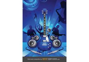 Free Rock Konzert Vektor