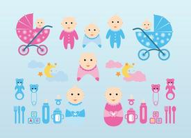 Vector-baby-graphics