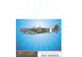 Vecteur Spitfire
