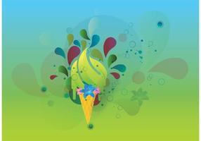 Imagen vectorial de verano