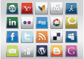 Libre Social Media Vector Icons