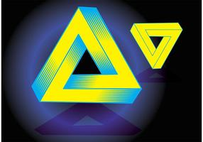 Triángulo mágico vector