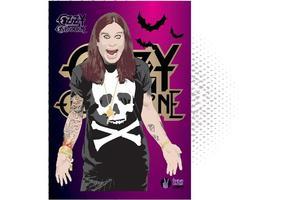 Ozzy Osbourne Vector