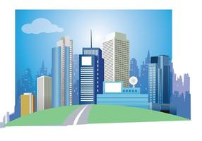 Modern-city-vector-art