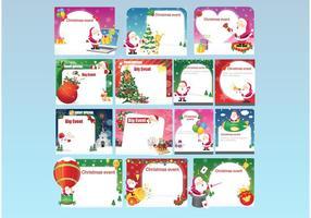 Kostenlose Weihnachtseinladungen