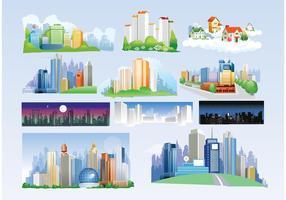 Free-city-vectors