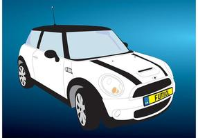 Mini Cooper Car Vector gratuito