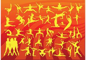 Movement People Vectors