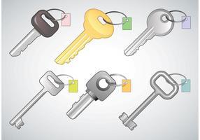 Free-keys-vectors