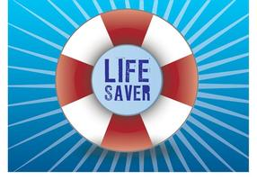 Lifesaver-vector