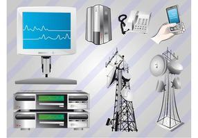 Free Communication Vectors